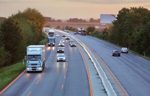 Truck Accident Highway
