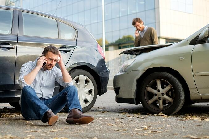 Accidents involving drivers with the same insurance company