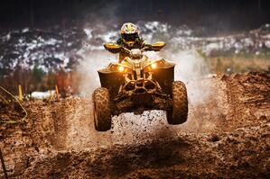 Making jumps and doing stunts looks awesome, but it dramatically increases your risk of wrecking your quad.