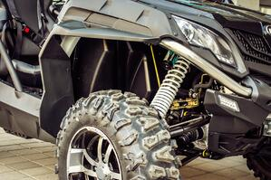 Taking a close look at your ATV before and after each ride is crucial for your safety.