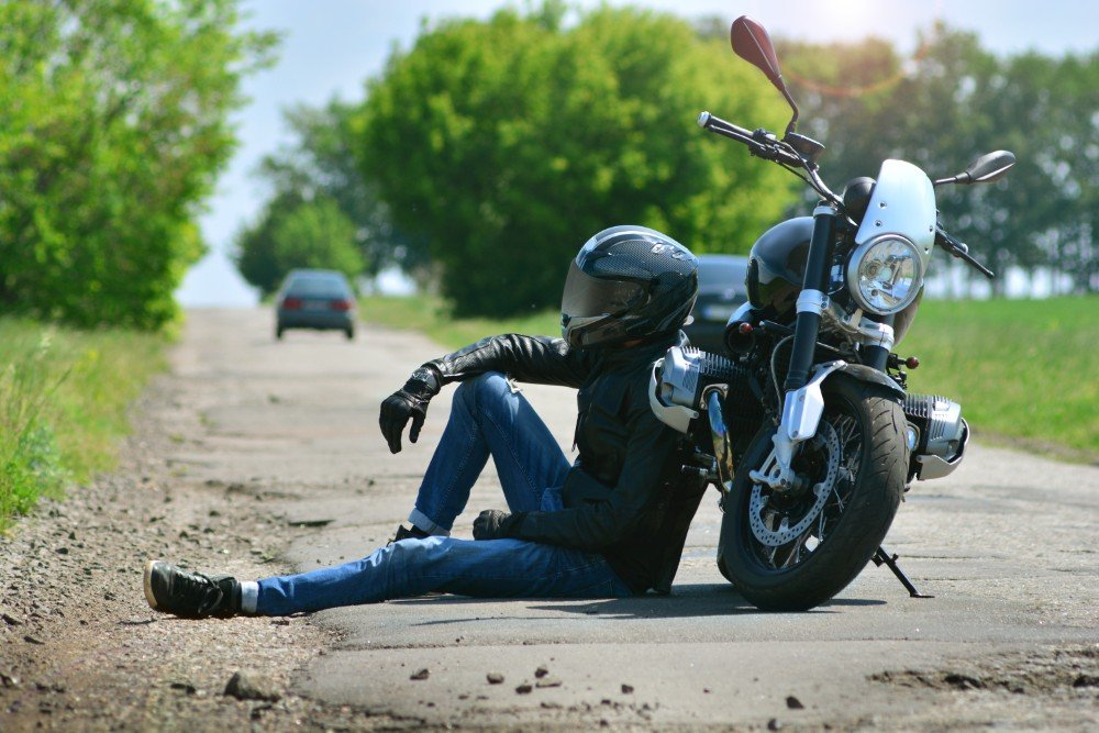 motorcycle-crash-on-a-bad-road_209607260