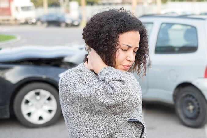 One of the most common auto accident injuries is whiplash.