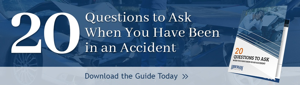 20 Questions To Ask When You've Been In An Accident
